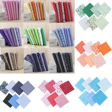 7Pcs Pack Diy Colourful 100% Cotton Fabric Assorted Pre-Cut Fabric Bundle