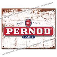 Metal Signs - PERNOD Retro Wall Plaque Man Cave Garage Vintage Bar Tin Sign UK