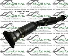 Catalytic Converter-Exact-Fit Rear Davico Exc CA 18364