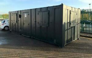 24ft x 9ft  Open Plan Anti-Vandal Office Container - Nationwide Delivery