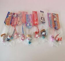 LOTS OF 9 ! HELLO KITTY * FISH (Eel,Lobster,Squid,Turban.) Charms Phone Straps