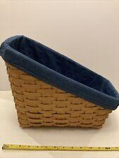 Longaberger Large Vegetable Basket Combo 14x12x8 With Liner