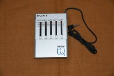 Sony Seq-50 Walkman EQ Stereo Graphic Equalizer 1980 For Cassette Player