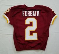 #2 Kai Forbath of Washington Redskins NFL Game Issued Jersey