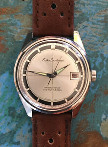 Seiko Sportsman 6602-9981 1966 Wristwatch (Rare Alpinist Dial Variant)