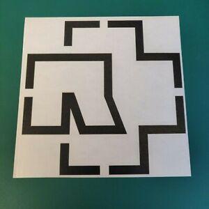 Rammstein Logo Vinyl Decal Sticker