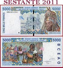 (Es) WEST AFRICA STATES SENEGAL - 5000 5.000 FRANCS 1999 - P 713Ki - NUEVO / UNC