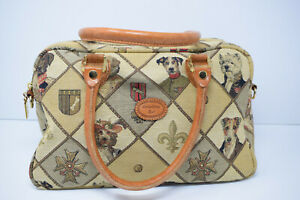 Gobelins Art Women Size S Multicolored Satchel With Leather Handles