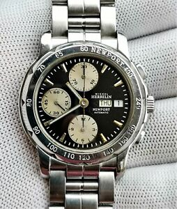 Michel Herbelin Newport Automatic Chronograph Valjoux 7750 ETA 7750 FRANCE 287