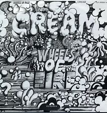 "CREAM ""WHEELS OF FIRE"" ORIG FR/GER 1968/70 M-/M- 2 LPs"
