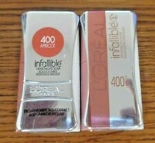 Lot Of 2 Loreal Infallible Never Fail Lipcolor 400 Apricot Sealed