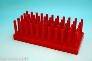Lab  Plastic tube rack 55 pillar 40 place new
