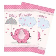 Pink Umbrellaphants Girls Baby Shower Invites X 8 Party Supplies Invitations