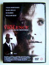 A HISTORY OF VIOLENCE - DAVID CRONENBERG  - DVD NEUF ET EMBALLE -