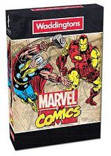 WADDINGTONS MARVEL COMICS PLAYING CARDS