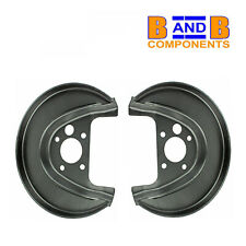 VW GOLF MK4 BORA REAR DISC BRAKE BACK PLATES PAIR A1548
