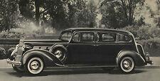 Packard Steel Running Board Set 37 1937 (Long) - Made in USA 16 Gauge