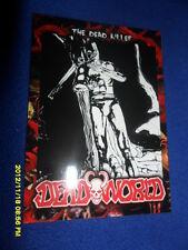 "2012 BREYGENT DEAD WORLD ZOMBIE CARD "" THE DEAD KILLER  "" #24"