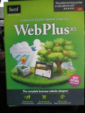 Serif WEBPLUS X5 - Full Version for Windows WPX5USDPRT