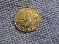 1994 Cape Verde coin 1 Escudo  SEA TURTLE  gorgeous  Animal coin hi grade coins