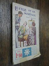 Lucile et le mariage Pierre Alciette collection Stella 246 Petit écho de la mode