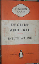 Penguin Book 75 Decline and Fall - Evelyn Waugh Mayfair Foibles Between the Wars