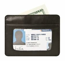 Travelon RFID Blocking Leather Cash and Card Sleeve 72488-500