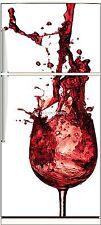 Sticker frigo électroménager déco cuisine Splatch 70x170cm réf 563