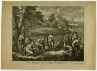 Antique Print-RELIGION-BAPTISM-JOHN THE BAPTIST-JORDAN-Orley-ca. 1690