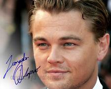 """Leonardo Dicaprio 8""""x10"""" Autographed Color Photo - RP"""