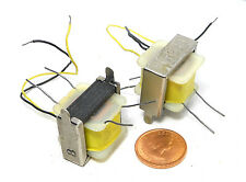 2 pcs Audio Output Transformers Nos Multi-Imped Dcr Pri 50 ohm : Sec 12 x 12 ohm