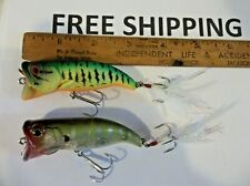 Team Daiwa TDMW1080F Mouth washer LOT OF 2 GREAT COLORS DISCONTINUE & Very Rare