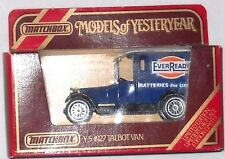 Matchbox Models of Yesteryear Y-5 1927 TALBOT VAN EverReady Batteries
