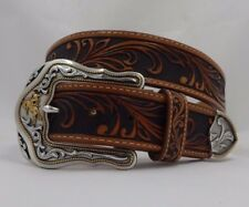 Tony Lama New WESTERLY RIDE Leather Belt  Size 40 NWT USA C41514