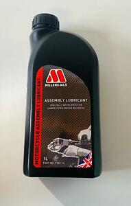 Millers Oils Competition Car Engine Assembly Lube Lubricant 1L