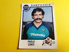 PAOLO CONTI SAMPDORIA FIGURINA ALBUM CALCIATORI PANINI 1982/83 n°243 rec