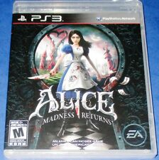 Alice: Madness Returns PS3 *New! *Sealed! *Free Shipping!