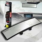 Broadway 270mm Wide Convex Interior Clip On Rear View Clear Mirror Universal 2