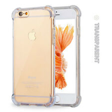 For Apple iPhone 6s Plus Clear Case Shockproof Rubber Silicone Bumper Back Cover