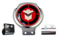 Scooter Bar Badge - Vespa Vigano Logo - FREE BRACKET & FIXINGS