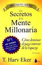 Los Secretos De La Mente Millonaria By Harv Eker Dinero Finanzas Exito Riqueza