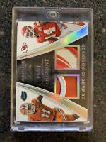 2016 Immaculate Demarcus Robinson Dual Patch True 1/1 RC Chiefs Gators