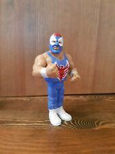 The Blue Blazer WWF WWE Custom Retro Hasbro Wrestling Figures Owen Hart wrestler