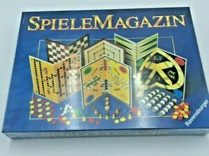 SpieleMagazin by Ravensburger Boxed NEW Ideal Gift Classic & Modern Game Mix