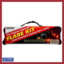 NEW Orion Safety Products 20-Minute Flares With Orange Vest 6 PACK FREE SHIPPING