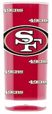 San Francisco 49ers Square Insulated Acrylic Tumbler - 16oz [NEW] NFL Cup Mug