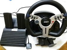 VOLANTE E PEDALIERA PLAYSTATION 2 TOP DRIVE 2 DUAL SHOCK LOGIC 3