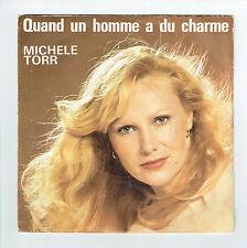 Michele TORR Vinyle 45 tours SP QUAND UN HOMME A DU CHARME - AZ SG 733  F Réduit
