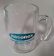Nasonex Pharma Vintage Kunststoff Kaffeebecher Becher Drug Rep Arzt Krankenschwester selten schön