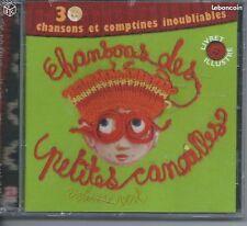CD Chansons des Petites Canailles 30 titres NEUF